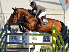 "Meredith Michaels-Beerbaum and Cantano topped the <a href=""http://www.chronofhorse.com/article/michaels-beerbaum-surprises-herself-one-two-win"">WEF Challenge Cup 12.</a>"