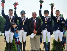 Zone 2 Wins Young Rider Gold at NAJYRC