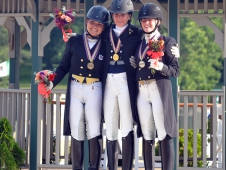 Young Rider Winners