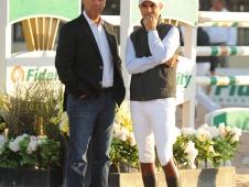 Rodrigo Pessoa and Jimmy Torano
