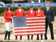 "Team U.S.A. won at the <a href=""http://www.chronofhorse.com/article/us-team-top-wellington-csio"">Wellington Nations Cup.</a>"