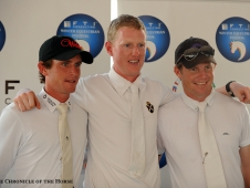 Darragh Kenny, Andrew Bourns and Shane Sweetnam