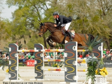 "Andre Thieme and Contanga 3 <a href=""http://www.chronofhorse.com/article/contanga-3-clear-winner-ocala"">won in Ocala.</a>"