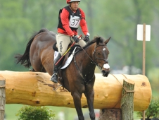 Buck Davidson And D.A. Adirmo Made Easy Work Of The Jersey Fresh CCI*** Cross-Country