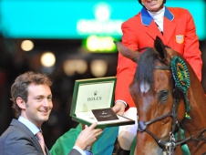 Beezie Madden Picks Up Her Rolex