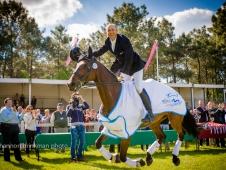 Bill Levett Wins Saumur CCI***