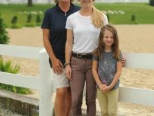 Phoebe Loughrey, Elsbeth Loughrey and Sophia Ayers