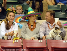 Tori Colvin, Cloe Hymowitz and Ken Berkley