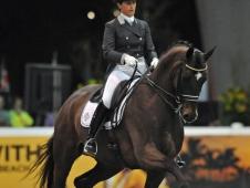Tinne Vilhelmson-Silfven Tops World Dressage Masters