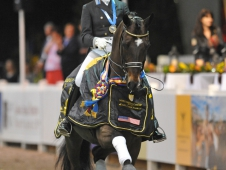 "Tinne Vilhelmson-Silfven Victorious In <a href=""http://www.chronofhorse.com/article/don-auriello-dances-world-dressage-masters-victory""<a>World Dressage Masters Freestyle</a>"