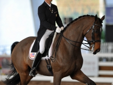 Steffen Peters and Legolas