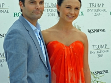 Georgina Bloomberg and Ramiro Quintana