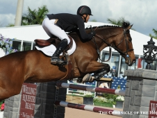Kent Farrington on Blue Angel