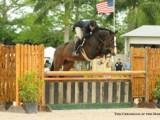 Come Monday and Tara Metzner lead the way in the $50,000 USHJA International Hunter Derby.