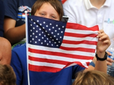Enthusiastic U.S. Fan