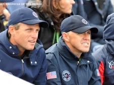 Boyd Martin and Buck Davidson