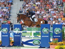 Peter Thomsen and Horseware's Barny