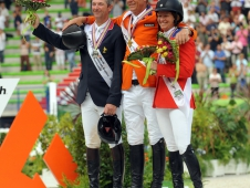 The Show Jumping Individual Medalists