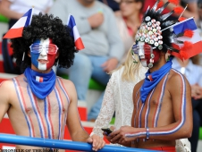 Enthusiastic French Fans