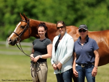 Kelly Waples, Jamie Bates and Becky Bates and Sox Appeal