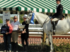 Clementine Tops The $10,000 National Hunter Derby at Spring Gathering Charity.