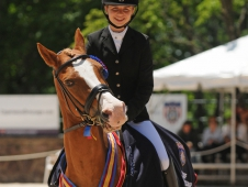 Poldy Hams It Up At The Pony Rider Championships