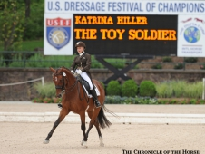 Katrina Hiller and The Toy Soldier