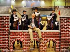 U.S. Pony Club Team gold medalists
