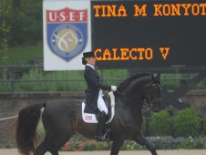Tina Konyot and Calecto