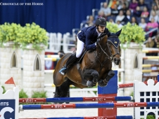 Nicola Philippaerts and H&M Forever D'Arco ter Linden