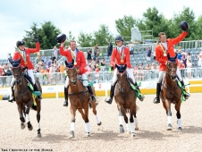 US Team Goes For A Gallop
