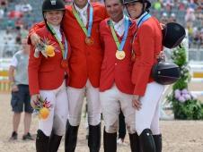 U.S. Team On The Podium
