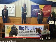 2015 Horsemanship Quiz Individual Winners