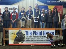 2015 USHJA Horsemanship Quiz Challenge Team Winners