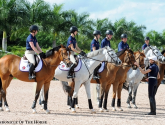2016 George H. Morris Horsemastership Training Session - Day 1
