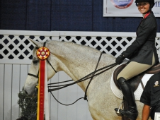 Reserve Champion Victoria Bauer