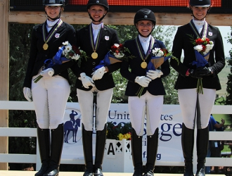 2016 NAJYRC-Junior Team Dressage
