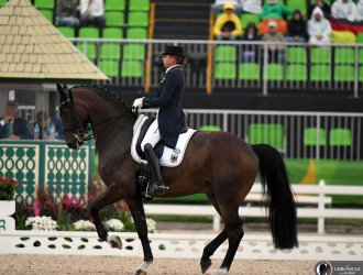 2016 Rio Olympic Games - Dressage Grand Prix Day 1