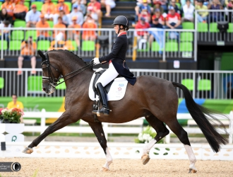 2016 Rio Olympic Games - Dressage Grand Prix Day 2