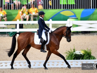 2016 Rio Olympic Games - Eventing Dressage Day 2 PM Session