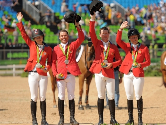 2016 Rio Olympic Games - Team Show Jumping Day 2