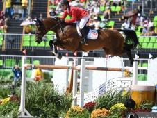 McLain Ward and Azur