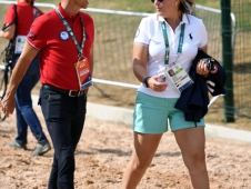 Steffen Peters and Joanie Morris
