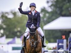 GBR-Gemma Tattersall rides Arctic Soul during the Showjumping. Final-3rd. 2017 GBR-Land Rover Burghley Horse Trials. Sunday 3 September. Copyright: Libby Law Photography