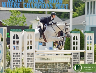 2017 Devon Junior Weekend Friday Equitation