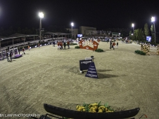 The course for the Longines FEI Nations Cup Jumping Final. 2017 ESP-Longines FEI Nations Cup Jumping Final - CSIO Barcelona. Real Club de Polo de Barcelona. Saturday 30 September. Copyright Photo: Libby Law Photography