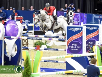 2017 Longines FEI World Cup Jumping Day 1