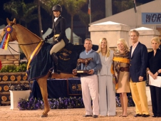 Brunello Wins AHJF Hunter Classic Spectacular