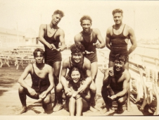 The Steel Pier Hawaiian High And Fancy Divers