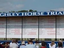 Burghley Scoreboard